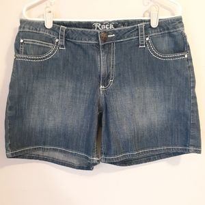 Rock 47 by Wrangler Jean Shorts